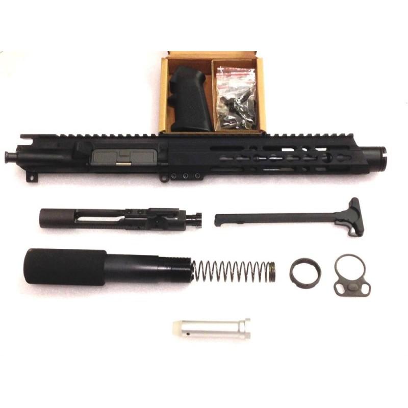 """KG Chaos 7.62x39 7.5"""" Pistol Upper Bundle"""
