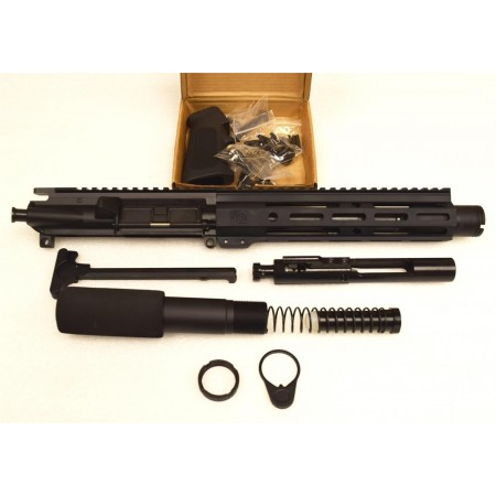 "KG Mayhem 5.56 7.5"" Pistol Upper Bundle w Flash Cone"
