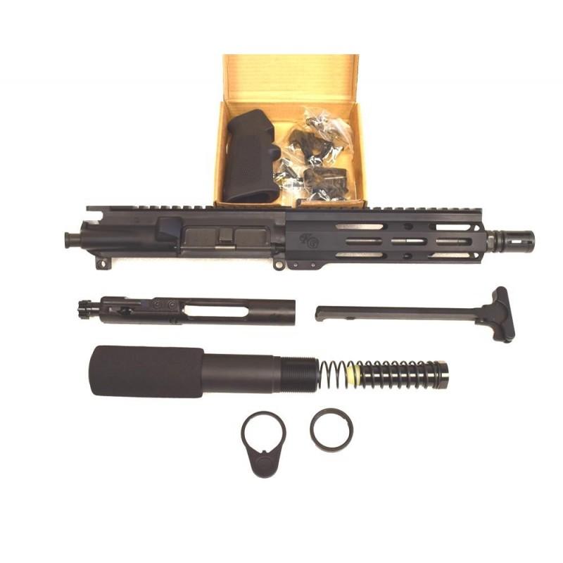 """KG Stinger 5.56 M-LOK 7.5"""" Pistol Upper Bundle"""