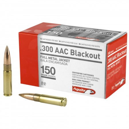 AGUILA 300BLK 150GR FMJ...