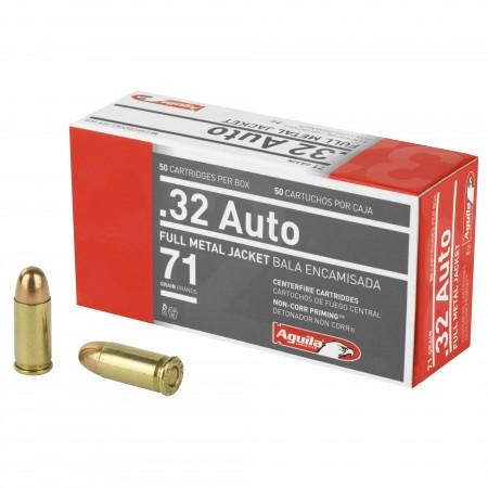 AGUILA 32ACP 71GR FMJ 50/1000