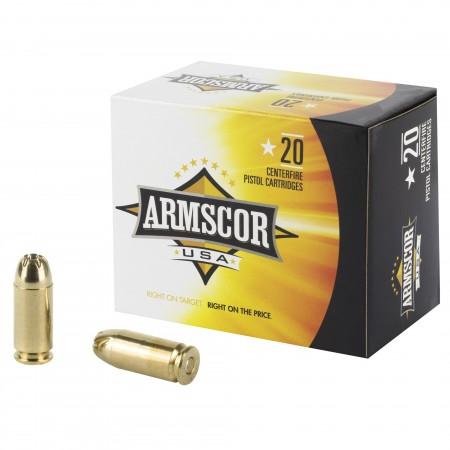 ARMSCOR 40S&W 180GR JHP 20/500
