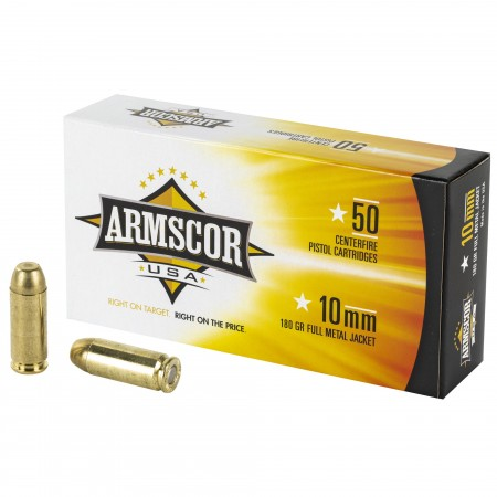 ARMSCOR 10MM 180GR FMJ 50/1000
