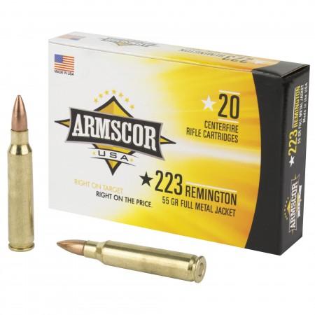 ARMSCOR 223REM 55GR FMJ...