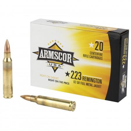 ARMSCOR 223REM 62GR FMJ...