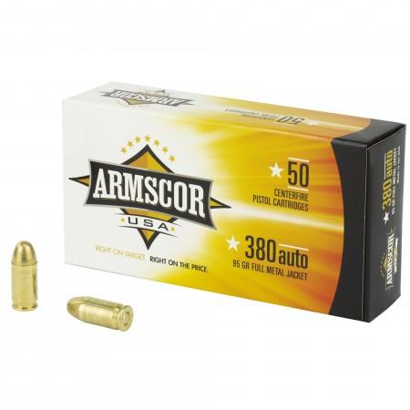 ARMSCOR 380ACP 95GR FMJ...
