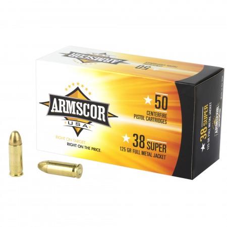 ARMSCOR 38SUPER 125GR FMJ...