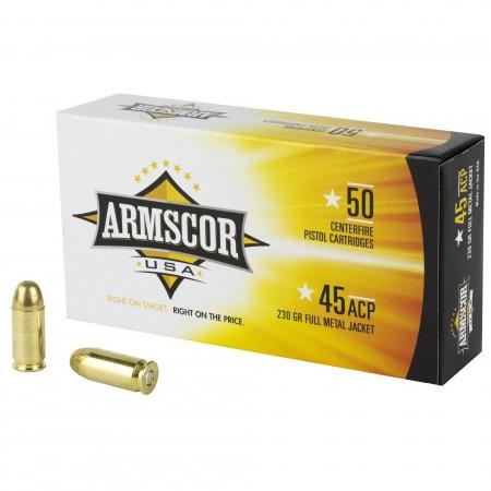 ARMSCOR 45ACP 230GR FMJ...