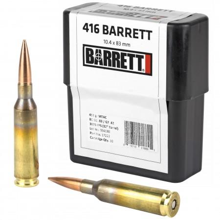 BARRETT .416B 452GR MTAC...