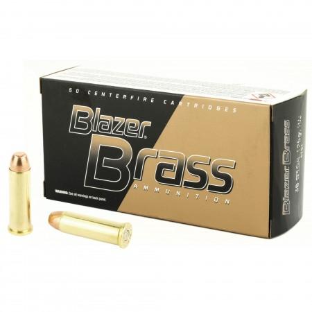 BLAZER BRASS 38SPL 125 FMJ...