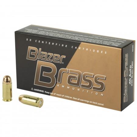 BLAZER BRASS 45ACP 230 FMJ...