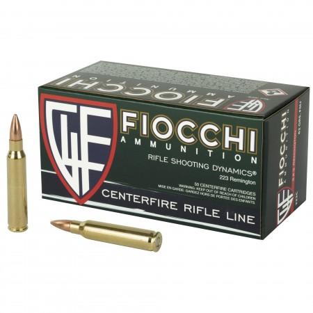 FIOCCHI 223REM 62GR FMJBT...