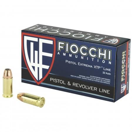 FIOCCHI 32ACP 60GR XTP 50/500