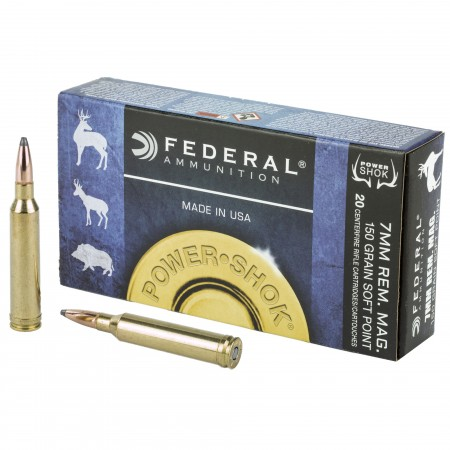 FED PWRSHK 7MMREM 150GR SP...