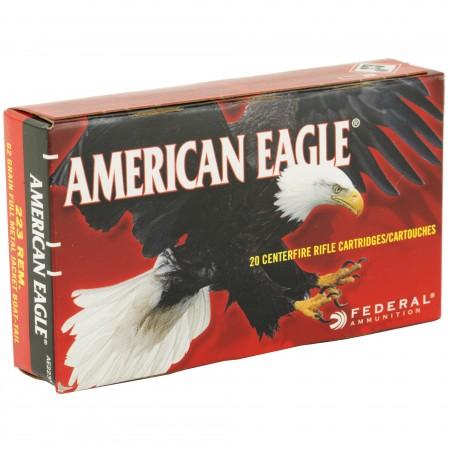 FED AM EAGLE 223 REM 62GR...