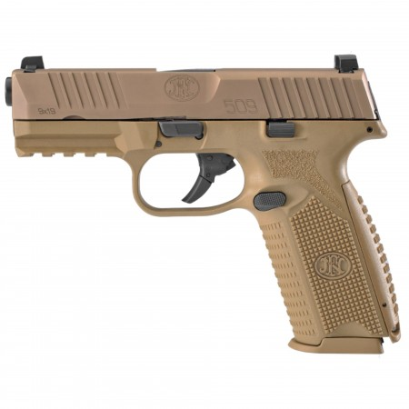 "FN 509 4"" 9MM 10RD FDE"