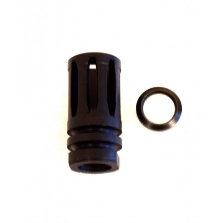 9mm Flash A2 Hider For AR 9mm Rifles 1/2x36 Thread with Crush Washer