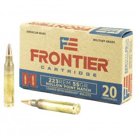 FRONTIER 223REM 55GR HP...