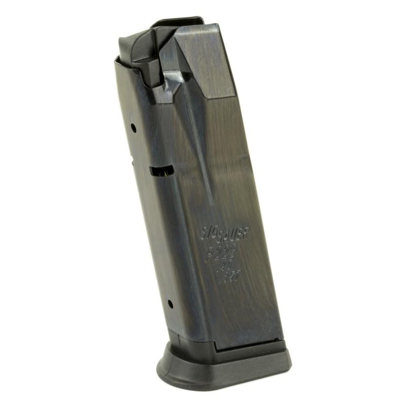 Sig Sauer P229 40 357 10rd Magazine: MAG SIG P229 357/40 10RD BL
