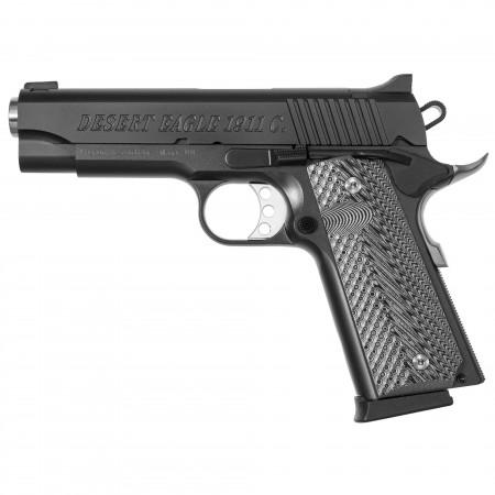 """DE 1911 45ACP 4.33"""" BLK FS"""