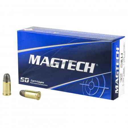 MAGTECH 32S&W 85GR LRN 50/1000