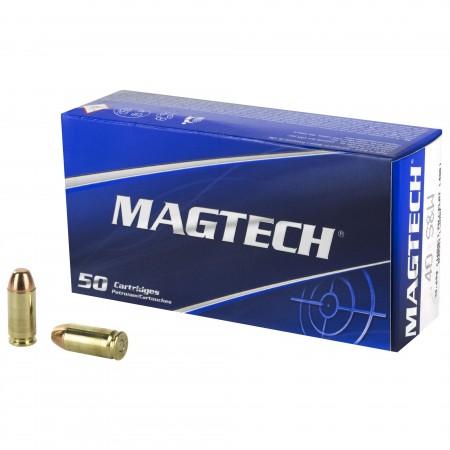 MAGTECH 40SW 165GR FMJ FLAT...