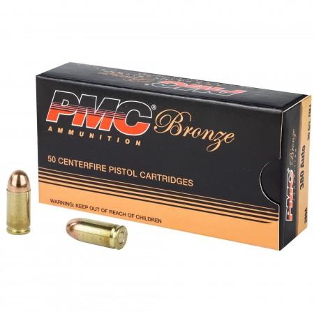 PMC BRNZ 380ACP 90GR FMJ...