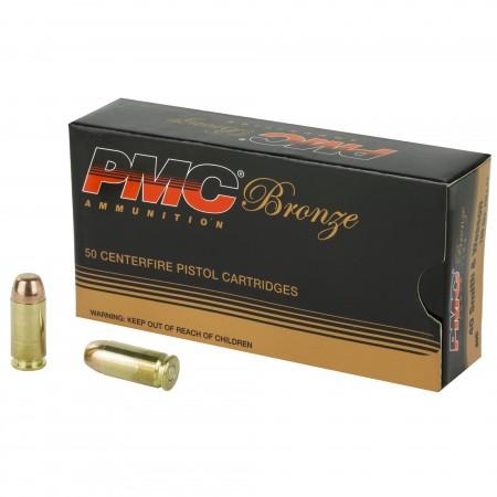 PMC BRNZ 40SW 165GR FMJ...