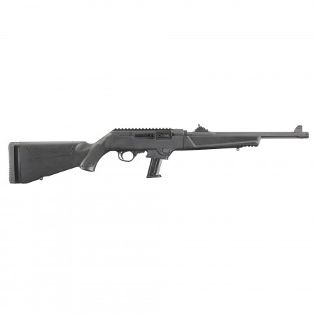 """RUGER PC 9MM 16.12"""" 17RD BL..."""