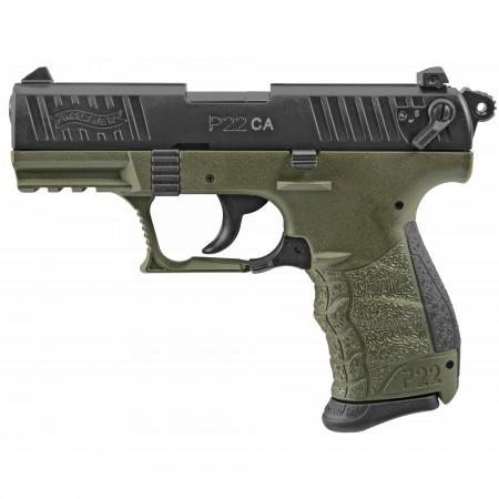 """WAL P22 22LR 3.4"""" MIL GR..."""