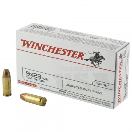 WIN USA 9X23WIN 124GR JSP...