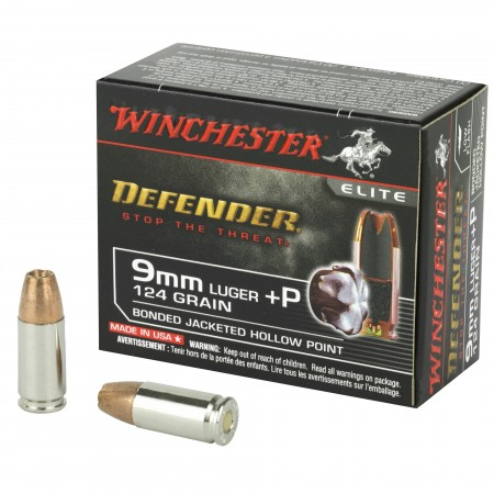 WIN DEFENDER 9MM+P 124GR...