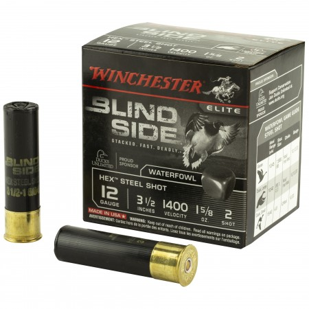 "WIN BLIND SIDE 12GA 3.5"" 2..."