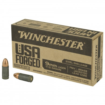 WIN 9MM 115GR FMJ BRASS JLC...