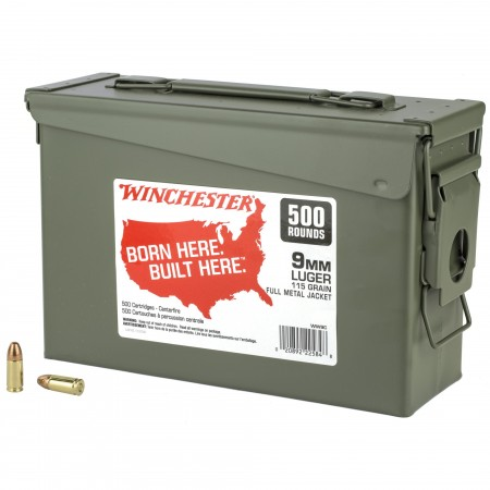 WIN USA 9MM 115GR FMJ CAN...