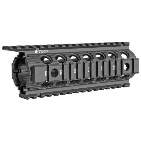 "TROY ENHANCED RAIL 7"" BLK"