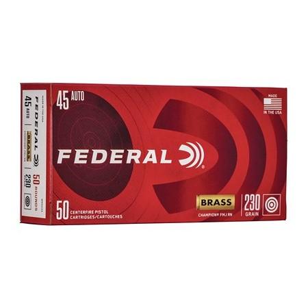 FED CHAMP 45ACP 230GR FMJ...