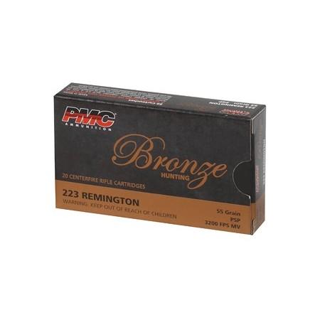 PMC BRNZ 223REM 55GR SP 20/800