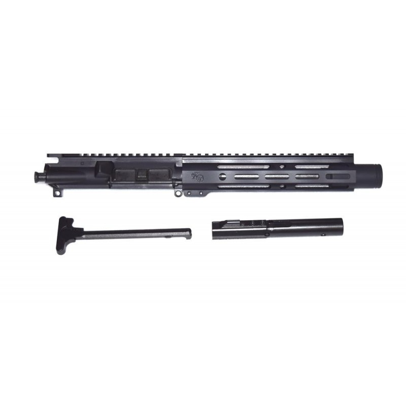 "KG Mayhem 9mm 8.3"" Pistol Upper with Flash Cone"
