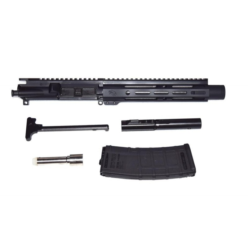 """KG Mayhem 9mm 8.3"""" Upper with Flash Cone and EndoMag Conversion"""