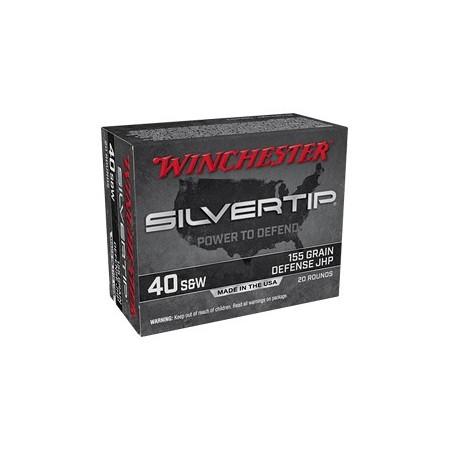 WIN SILVERTIP 40 S&W 155GR...